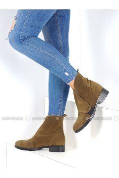 Green - Boot - Boots - Pembe Potin(110313782)