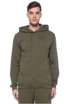 Herschel Erkek Training Uniform Yeşil Logolu Sweatshirt S EU(125149412)