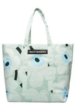 Peruskassi Pieni Unikko Bag Bags Shoppers Casual Shoppers Grün MARIMEKKO(116997512)