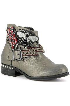 Boots Curiosite Low boots en cuir avec écussons(127898639)