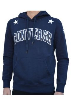 Sweat-shirt Converse FLEECE LOGO FELPA BLU(115476762)