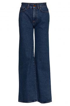Hall Jeans Mit Schlag Blau RODEBJER(109112698)