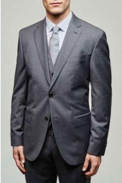 Vestes de costume Baldessarini Veste laine vierge H Gris(127855134)