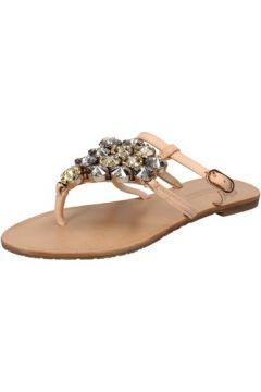 Sandales Fifth Avenue sandales beige cuir AE161(88516176)