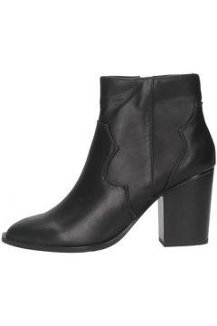 Bottines Exé Shoes Exe\' RIO-477 Texano Femme Noir(128002131)