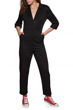 Volcom Frochic Boiler Suit Jumpsuit - Black(100266296)