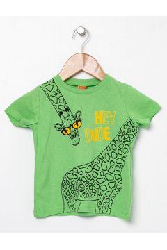 Koton Baskılı Yeşil T-Shirt(113977968)