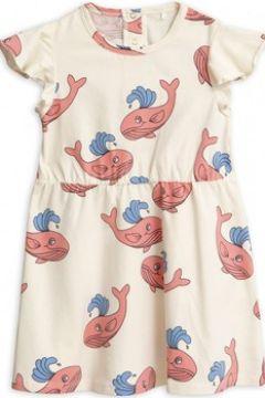 Robe enfant Mini Rodini Robe illustrée Whale(101752109)
