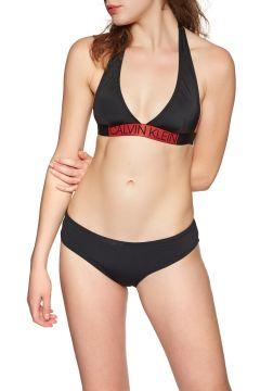 Calvin Klein Plunge Triangle Bikinioberteil - Black(100264578)
