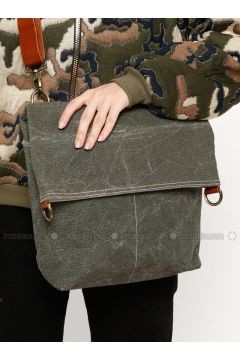 Khaki - Shoulder Bags - Ottobags(110318528)