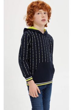 DeFacto Erkek Çocuk Kapüşonlu Sweatshirt(125918877)