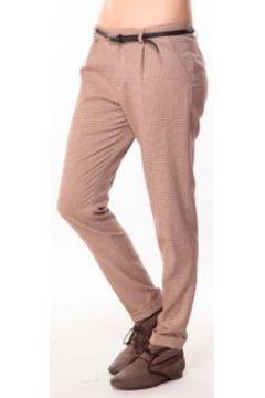 Pantalon Tcqb Pantalon Prince de Galles Rouge(115471453)
