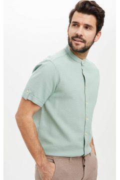 DeFacto Erkek Regular Fit Basic Kısa Kollu Gömlek(119060189)