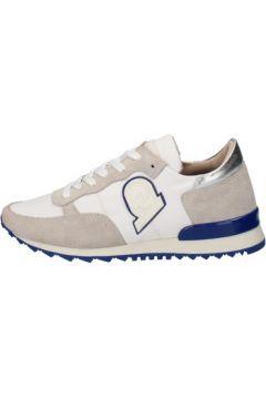 Chaussures Invicta sneakers blanc textile daim AB57(88470023)