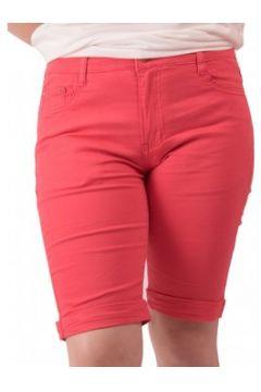 Short Primtex Bermuda en jean taille haute coton stretch léger(115421592)