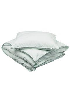 Bed Set Linen Blend Home Bedroom Bedding Sets Blau GRIPSHOLM(114165541)