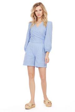 Комплект с шортами PIRS 1018 голубой(115247932)