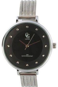 Montre Gg Luxe Montre femme noire bracelet argent Mary(115396680)