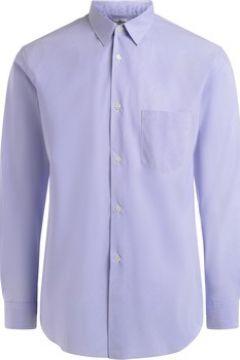 Chemise Comme Des Garcons Chemise à col cheminée bleu clair et blanche(115545589)