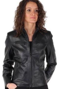 Veste Giorgio Cuirs Veste Giorgio any waxy cuir ref_cco41742 noir(88512279)