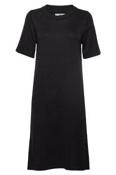 Amy Knitted Dress Kleid Knielang Schwarz LEXINGTON CLOTHING(114163213)