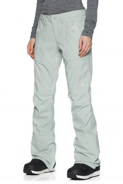 Pantalons pour Snowboard Femme Burton Vida - Aqua Gray(111322882)