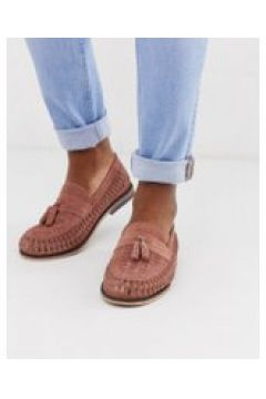 River Island - Loafer in Rosa mit Flechtdesign - Rosa(93447187)