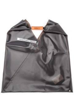 Sac à main Mm6 Maison Margiela Sac shopper en PVC gris anthracite(115507163)