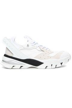 Calvin Klein Erkek Beyaz Siyah Garnili Sneaker 44 EU(119785566)