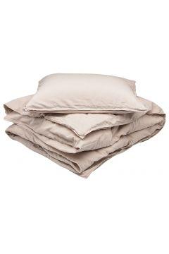 Bed Set Linen Blend Home Bedroom Bedding Sets Beige GRIPSHOLM(114165540)