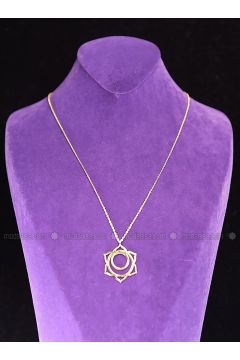 Gold - Necklace - By Geda(110313915)