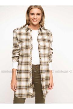 Khaki - Dresses - DeFacto(110336037)