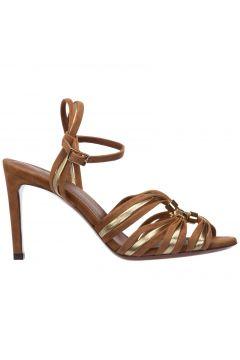 Women's suede heel sandals(118230386)