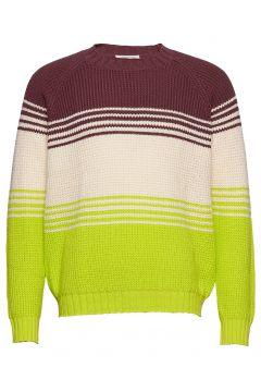Gunther Sweater Strickpullover Rundhals Bunt/gemustert WOOD WOOD(116919990)
