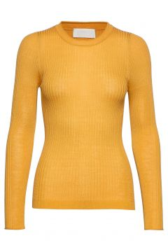 Annika Strickpullover Gelb FALL WINTER SPRING SUMMER(114153336)