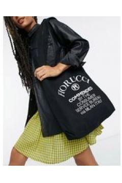 Fiorucci - Maxi borsa con logo colore nero(123794557)