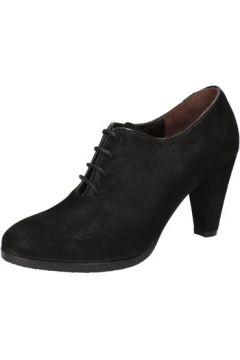 Boots Calpierre bottines noir daim AD566(115393739)