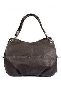 Brown - Shoulder Bags - G.Ö.N(110343324)