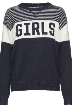R1. Girls Crew Strickpullover Blau GANT RUGGER(108941568)
