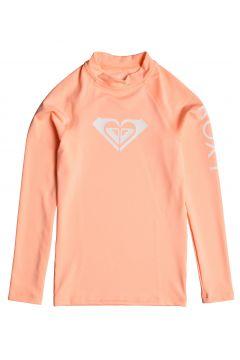 Roxy Whole Hearted Long Sleeve UPF 50 Mädchen Rash Vest - Souffle(100261145)