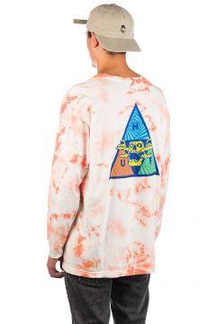 HUF Acid Skull TT Long Sleeve T-Shirt roze(114566189)