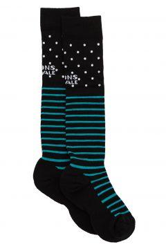 Fashion Socks Femme Mons Royale Lift Access - Black/White/Tropicana(115690362)