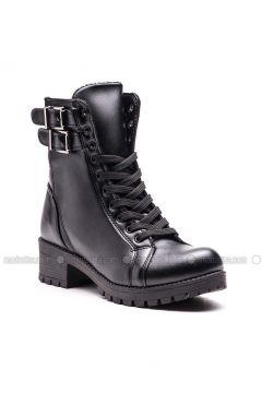 Black - Boot - Boots - Esem(110336582)
