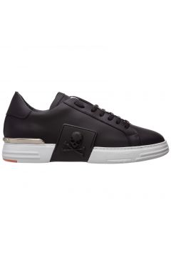 Men's shoes leather trainers sneakers phantom(118369921)