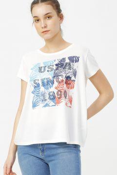 U.S. Polo Assn. Kırmızı T-Shirt(114000922)