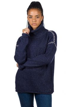 Rip Curl Leah Roll Neck Pullover blauw(85174553)