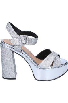 Sandales Olga Rubini sandales argent glitter BS116(115443083)