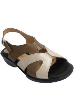 Sandales Doctor Cutillas Sandale Femme tons beige brun et très co(127927065)