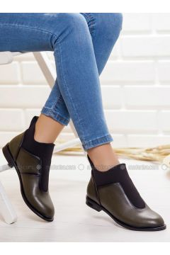 Khaki - Boot - Boots - Ayakkabı Frekansı(110335026)
