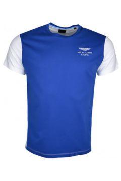 T-shirt Hackett T-shirt col rond Aston Martin bleu et blanc pour homme(127983507)